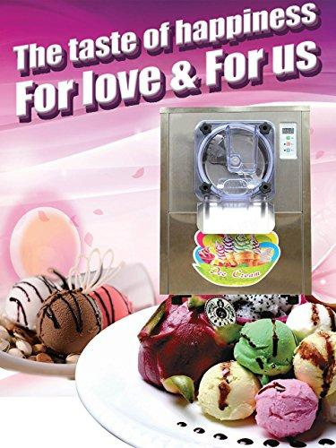 Yoli® hard ice cream making machine, stainless steel ice cream machine,silver color ice cream maker,110V/220V