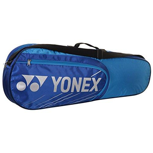 Yonex 4723EX 3 Racket Bag Blue Badminton Teennis Squash Racket Sports Holdall One Size