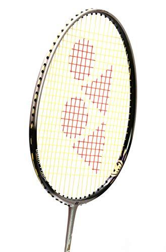 Yonex Badminton Racket Carbonex Series 2018-19 with Full Cover Professional Graphite Carbon Shaft Light Weight Competition Racquet High Tension Fast Speed Performance (CN6000EX-White/Black)