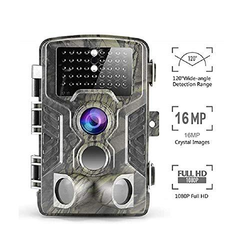 "YTIANG Hunting Camera, 16MP 1080P Waterproof Camera Infrared Motion Activated 0.3S Reconnaissance Camera, Night Vision 2.4"" LCD Range 120 ° Detection Infrared LED"
