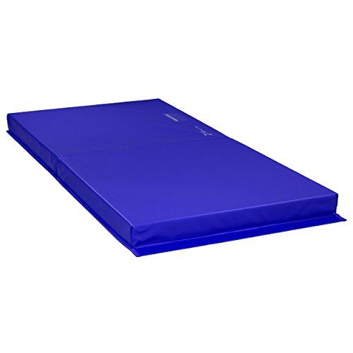 Z-Athletic 6'x3'x4 Gymnastics, Tumbling, Martial Arts Open Cell Foam Exercise Mat