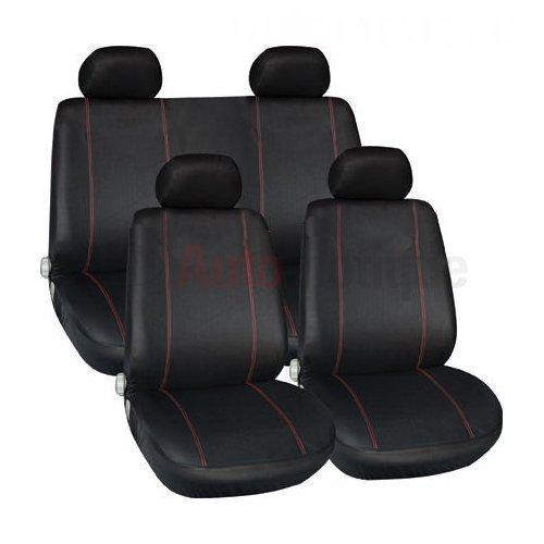 ZAFIRA EXCITE (05-) PREMIUM FULL CAR SEAT COVER SET RED PIPING