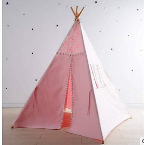 ZAOYUE tent Kids Cotton Teepees For Children Playhouse Foldable Play Tent