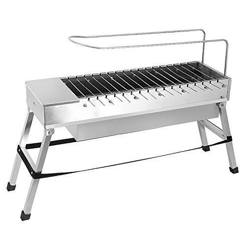 ZCF Household usb electric charcoal grill/Automatic flip barbecue stove with dedicated fork stainless steel BBQ grills