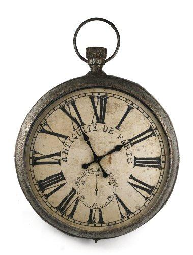 ZENTIQUE Pocket Watch Shaped Vintage Clock