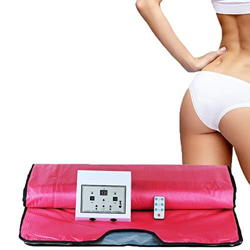 ZFAZF Sauna Blanket Far Infrared Personal Spa Weight Loss Fitness Blanket Khan Steam Blanket Loss Detoxification Beauty Relieve Physical Fatigue for Home Use