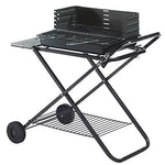ZJJ& BBQ Folding Barbecue Grill Car Portable Mobile Grill Outdoor Grill