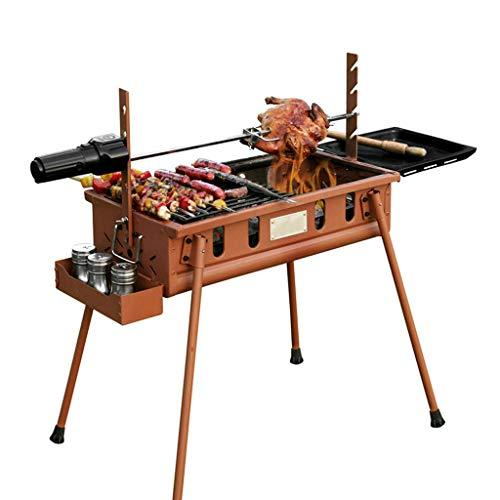 ZJJ& BBQ Wild Barbecue Grill Charcoal Outdoor Portable Barbecue Grill Tool