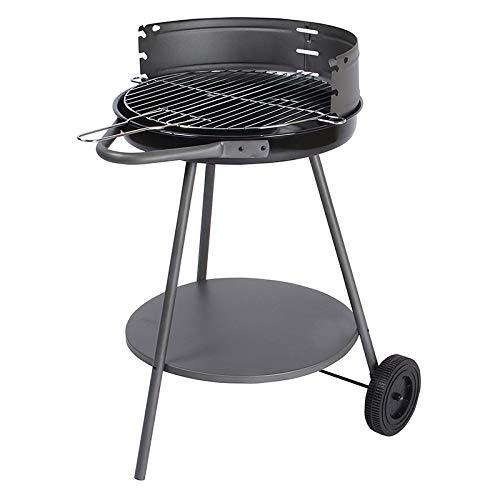 ZLJWRQY SK Charcoal Barbecue Grill with Pulley,for 3-5 Persons Ourdoor Camping BBQ Party