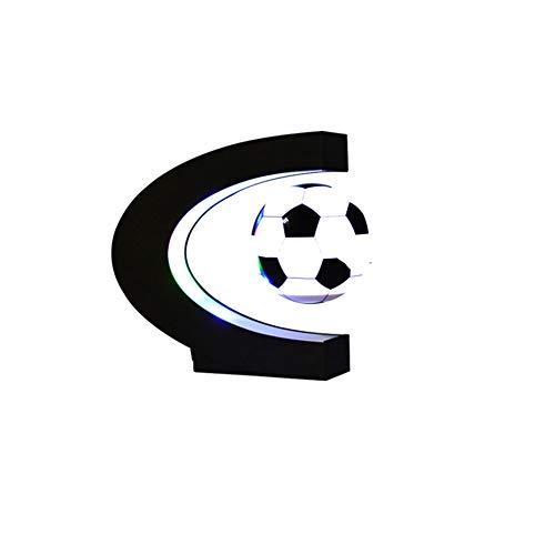 ZMYLOVE Global toys, high-rotation magnetic levitation football and LED lights home office decoration