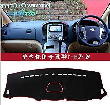 Zoomy Far: black for RHD: dashmats car-styling accessories dashboard cover for Hyundai Grand Sta h1 H-1 Travel Cargo 2008 2015 in right hand drive RHD