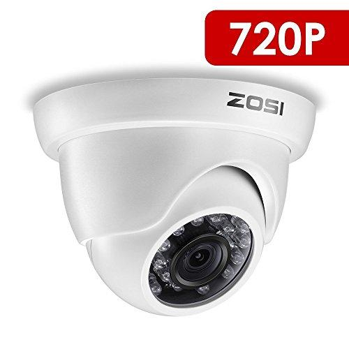 ZOSI 720P CCTV Systems 8CH Video Security Systems with 1TB Hard Drive  4x720P Indoor/Outdoor Home Security Cameras