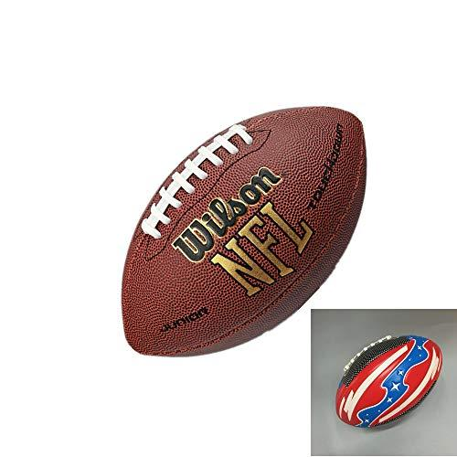 ZPF Adult Football, Classic Durable Non-Slip Synthetic Leather Easy To Grip, Suitable For Adults, Teenagers, Amateur Competition, Gift Children'S Ball
