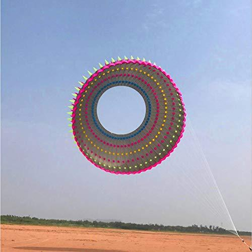 ZSYF Kite 10M Large Ring Dragon Kite Flying Rainbow Kites Adult Kite Festival Display Kite Albatross