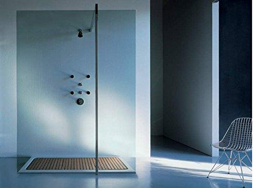 Zucchetti Kos shower enclosure Floor shower system Floor 2 4FABI