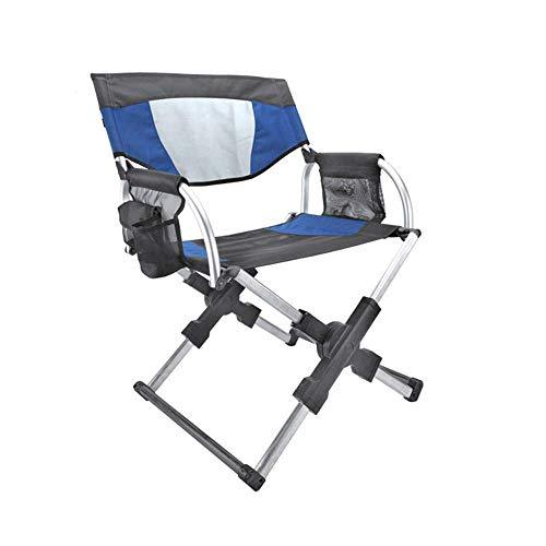 ZYG.GG Folding Chair Satchel Director's Chair High-grade Aluminum Alloy Portable Fishing Chair Camping Chair Picnic Travel By Walking Festival