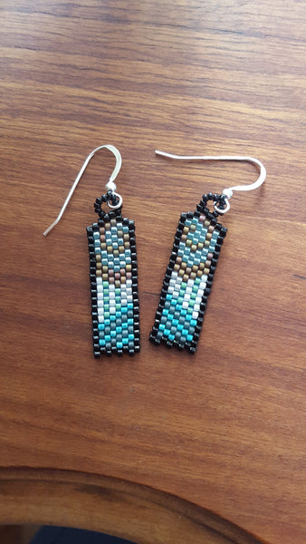 Original Dream Earring in turquoise/teals