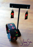 Rockabilly Cherry Earrings