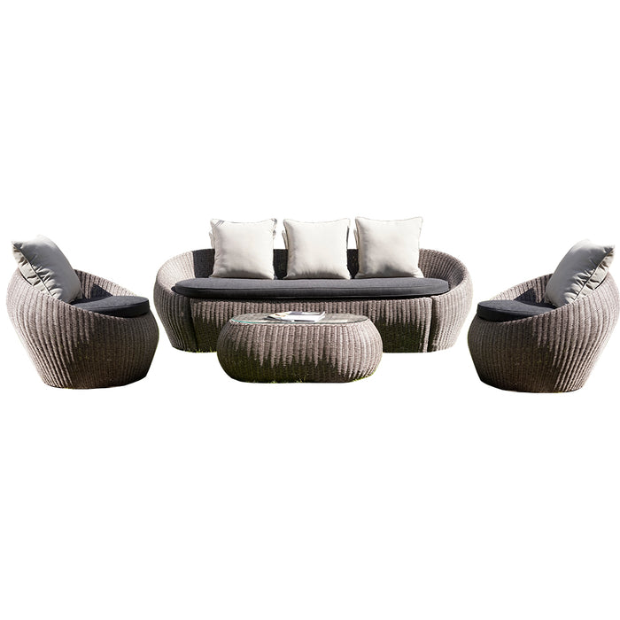 All Round Sofa Set of 4 Pcs