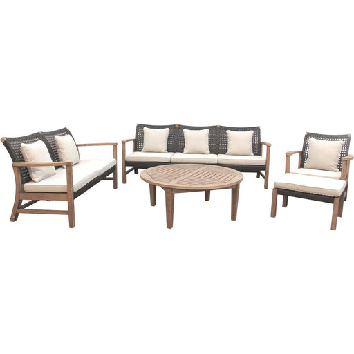 Fiona Sofa Set of 5 Pieces