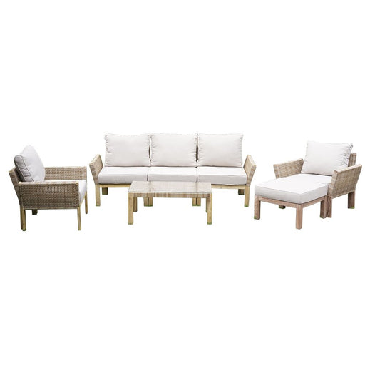 Queensland Sofa Set 7 Pieces