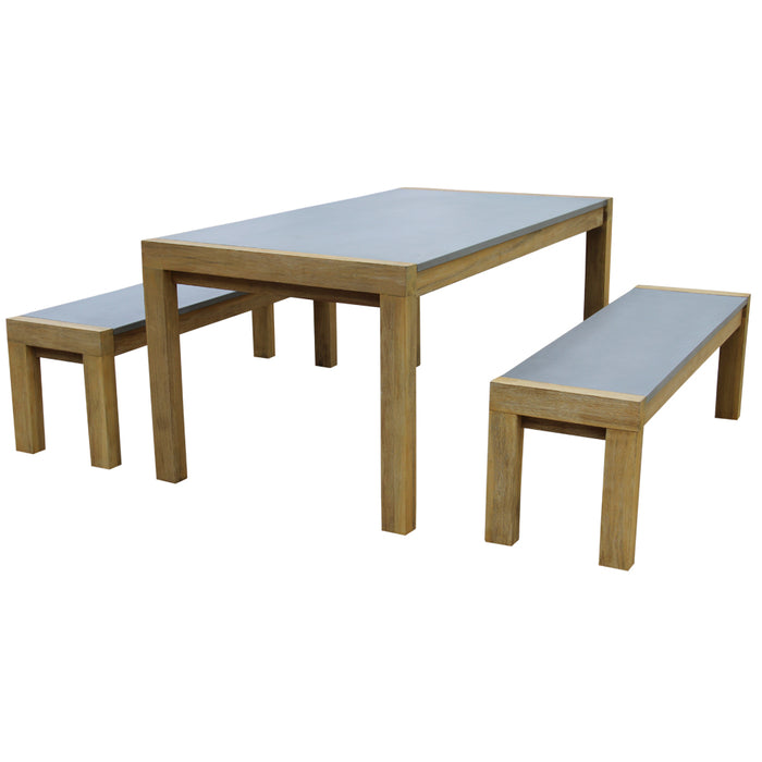 Kamani Dining Set of 3 Pcs