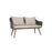 Lite Sofa Wicker Setting 4 Pieces