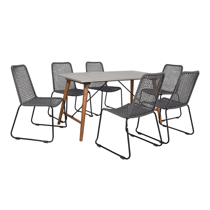 Scandi Dining Setting 7 Pieces