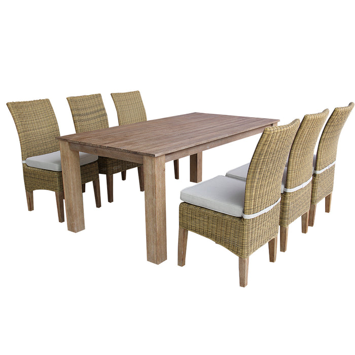 Virginia Dining Set Of 7 Pcs