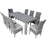 Virginia Dining Set Of 9 Pcs