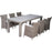 Carolina Dining Set Of 7 Pcs