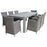 Carolina Dining Set Of 9 Pcs