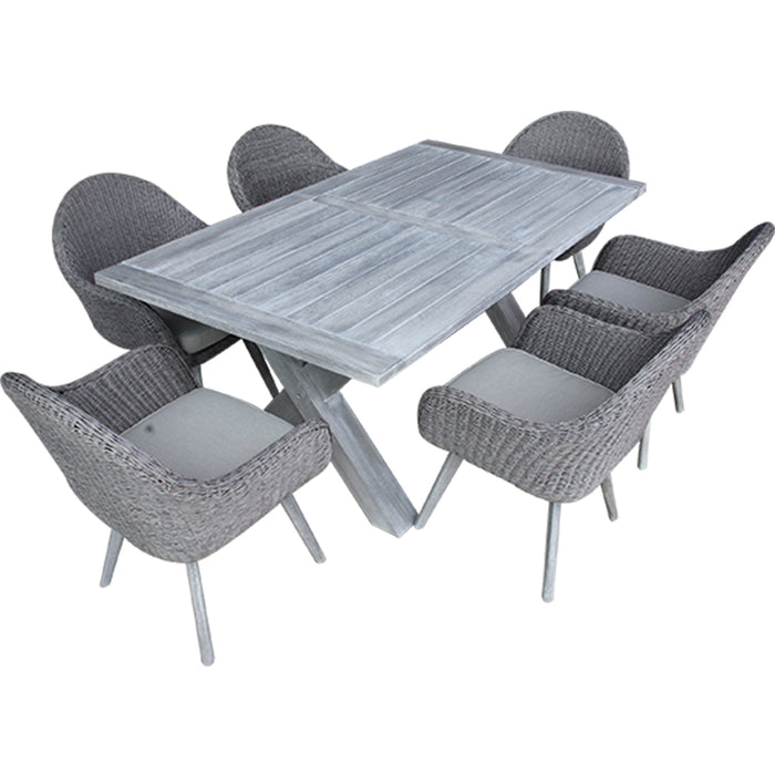 Atlanta Dining Set Of 7 Pcs