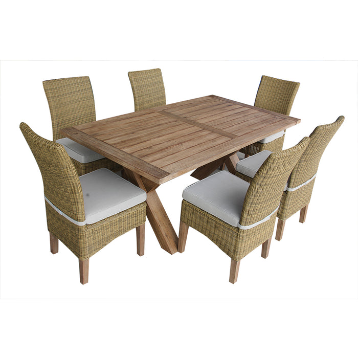 Charlotte Dining Set Of 7 Pcs