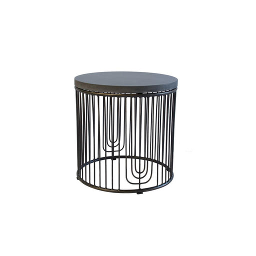 Jungle round side table