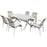 Luxury Dining Set of 7 Pieces
