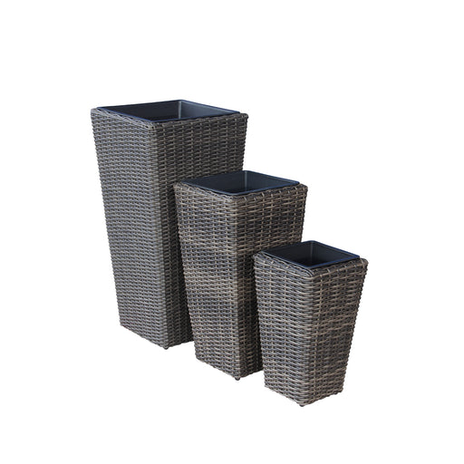 Indoor Wicker Tall Tapered Size M D30cm