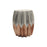 Pleat stool - copper