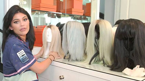 Kylie Jenner wig collection