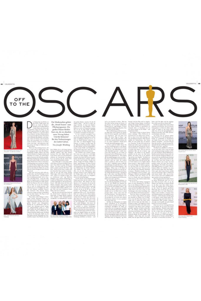 'Off To The Oscars' by Faz Magazin (Germany)
