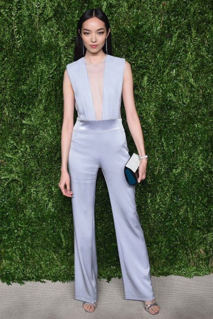 Fei Fei Sun wears Galvan to the CFDA/Vogue Fashion Fund Dinner