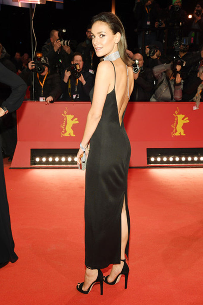 Janina Uhse wears Galvan to the Berlinale Film Festival