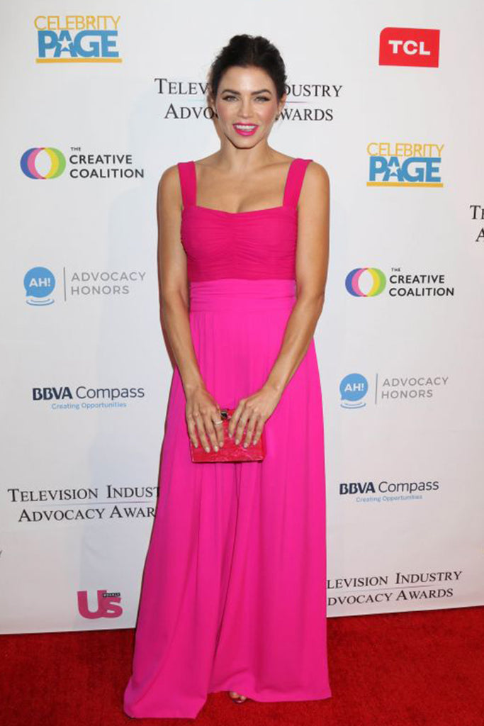 Jenna Dewan wears Galvan to the Television Advocacy Awards in LA