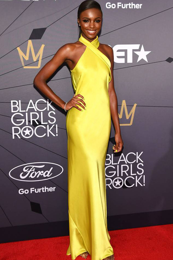 Leomie Anderson wears Galvan to star-studded event in New Jersey