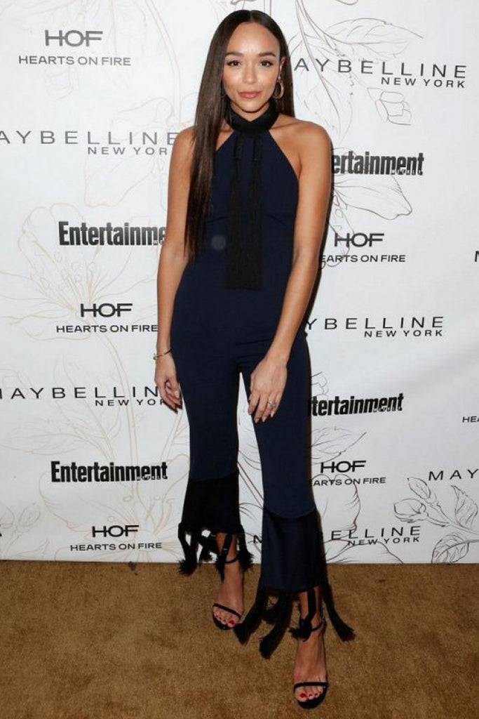 Ashley Madekwe wears Galvan to Entertainment Weekly's 'Screen Actors Guild Award Nominees' celebration