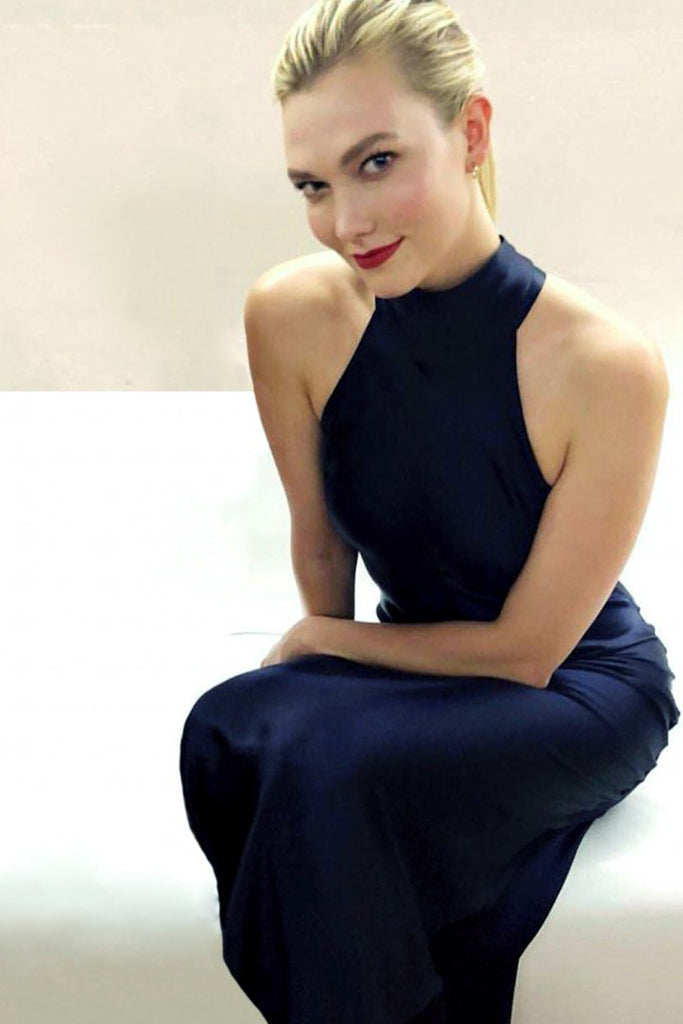 Karlie Kloss wears Galvan in Shanghai