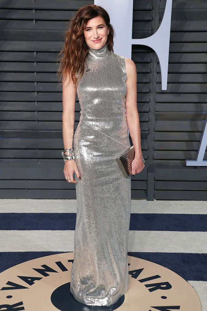 Kathryn Hahn wears Galvan to Vanity Fair's Oscar party
