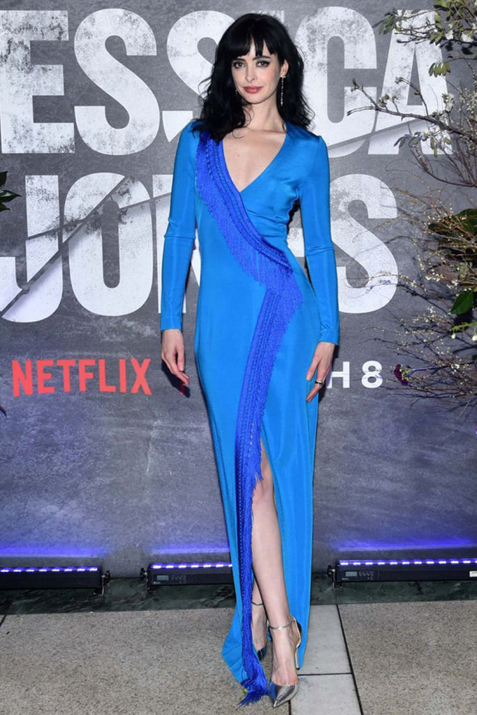 Krysten Ritter wears Galvan to 'Jessica Jones' premiere after party