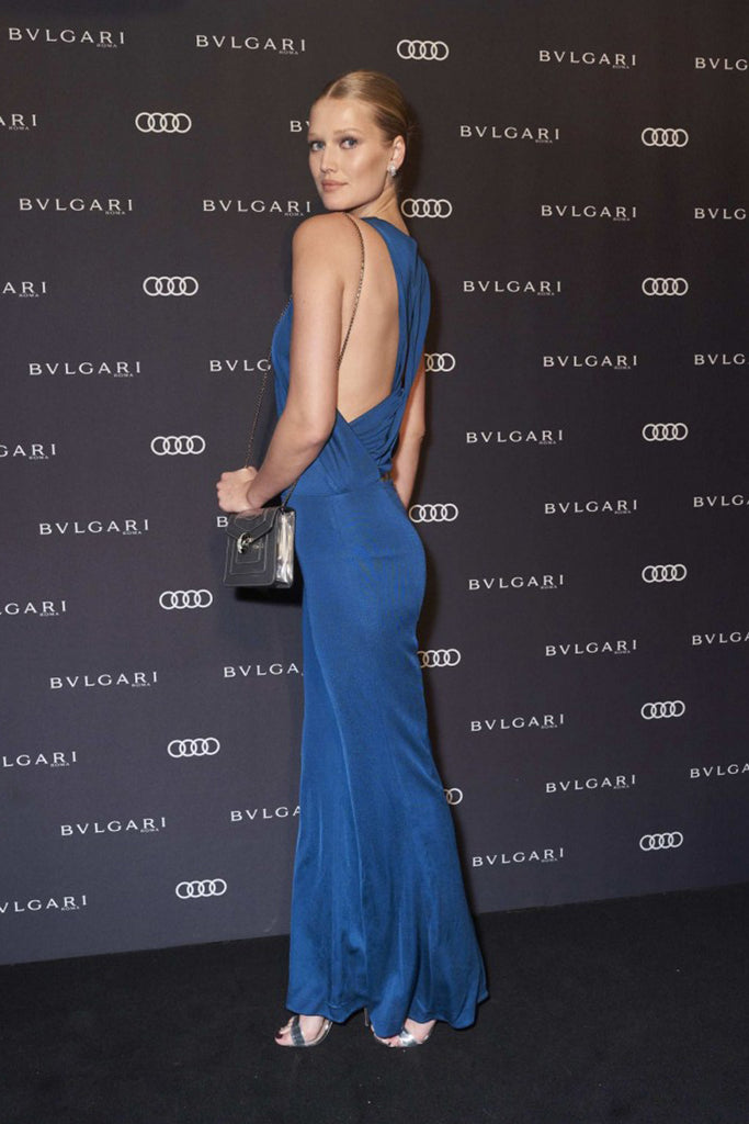 Toni Garrn wears Galvan to Berlinale's Bulgari party