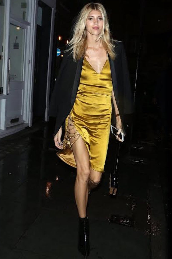Devon Windsor wears Galvan to LFW party hosted by Love Magazine